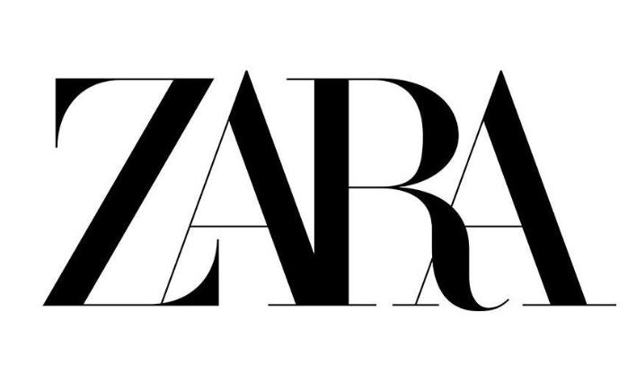 The brand new Zara logo