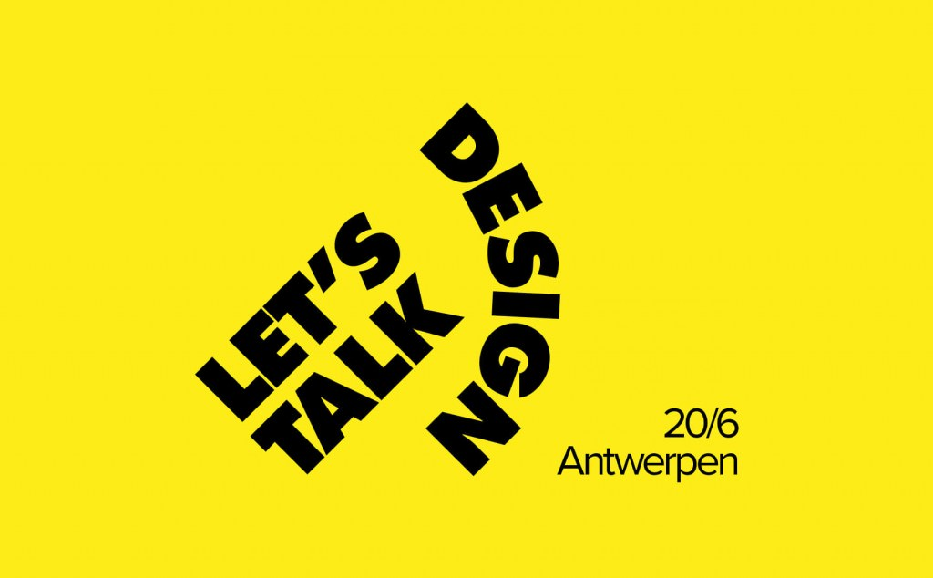 Let's Talk Design & Studio Tour— Antwerpen
